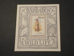 BARBADOS - BF 1989 MANGUSTA - NUOVO(++) - Barbados (1966-...)