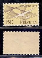ESTERO - SVIZZERA - 1949 - Pro Aereo (518) - Gomma Integra (45) - Francobolli