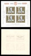 ESTERO - SVIZZERA - 1960 - Foglietto 50 Anni Pro Patria (Block 17) - Gomma Integra (40) - Francobolli