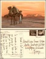 CARTOLINE - PUBBLICITARIE - Chianti Ruffino Nelle Regioni Africane - Ill. Metlicovitz - Viaggiata FP - Francobolli