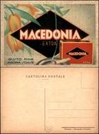 CARTOLINE - PUBBLICITARIE - Sigarette Macedonia Extra - Ill. Scorzon - Nuova FP - Francobolli