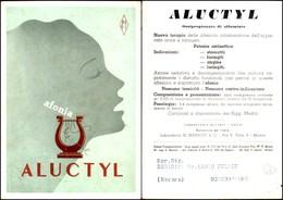 CARTOLINE - PUBBLICITARIE - Aluctyl Per Afonia Di Beytout - Nuova FG - Francobolli