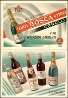 CARTOLINE - PUBBLICITARIE - Vini Vermouth Spumanti Luigi Bosca E Figli - Nuova FG - Francobolli