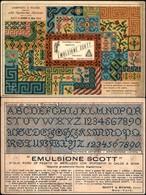 CARTOLINE - PUBBLICITARIE - Emulsione Scott Di Scott & Bowne Di New York - Nuova FG - Francobolli