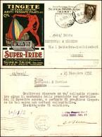 CARTOLINE - PUBBLICITARIE - Super Iride - Ditta Ruggero Benelli - Viaggiata FG - Francobolli