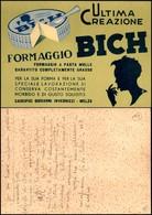 CARTOLINE - PUBBLICITARIE - Formaggio Bich Giovanni Invernizzi - Scritta Non Viaggiata FG - Francobolli