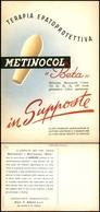 CARTOLINE - PUBBLICITARIE - Metinocol Beta - Nuova FG - Francobolli