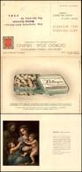 CARTOLINE - PUBBLICITARIE - Lattogen Copmpresse - Giorgio Zoja - Doppia FG - Francobolli