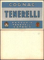 CARTOLINE - PUBBLICITARIE - Cognac Tenerelli Catania - Nuova FG - Francobolli
