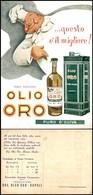 CARTOLINE - PUBBLICITARIE - Olio Oro - Nuova FG - Francobolli