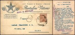CARTOLINE - TESTATINA - Bartalini Vittorio Reggio Emilia - Viaggiata FP - Francobolli