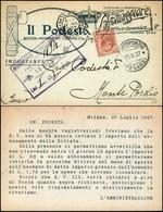CARTOLINE - TESTATINA - Il Podestà Rivista Mensile Dei Comuni Italiani - Viaggiata FP - Francobolli