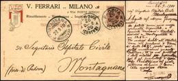 CARTOLINE - TESTATINA - VEM Di V. Ferri Milano - Viaggiata FP - Francobolli