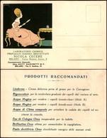 CARTOLINE - TESTATINA - Laboratorio Chimico Nicola Cecere Milano - Nuova FP - Francobolli