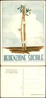 CARTOLINE - COMMEMORATIVE - Redenzione Sociale Nuova - FG - Francobolli