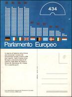 CARTOLINE - POLITICA - Parlamento Europeo - Nuova FG - Francobolli