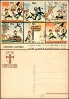 CARTOLINE - POLITICA - Vota Democrazia Cristiana - Proverbi Illustrati - Nuova FP - Francobolli