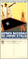 CARTOLINE - MILITARI - Adunata Nazionale Dei Genieri D'Italia Firenze 1936 - Ill. Barberis - Nuova FG - Francobolli