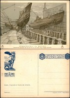 CARTOLINE - FRANCHIGIA - 1942 - Sommergibilisti - Sommergibili In Bacino (F67-12) - Nuova (100) - Francobolli