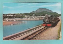 Small Post Card Of Festiniog Railway,The Cob,Porthmadog, Gwynedd,Wales,V97. - Wales