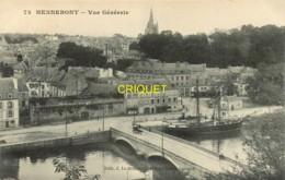 56 Hennebont, Vue Générale, Très Beau Voilier 2 Mâts Amarré Au Quai - Hennebont