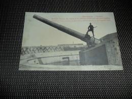 Mariakerke ( Ostende  Oostende )  Ruines  Ruinen  Guerre  Oorlog  Soldaten  Soldaat  Batterie Tirpitz  Canon  Kanon - Oostende
