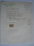 1961 Henri De Schaepdrijver Alost Aalst Houblons Hophandel Factuur Voor Brouwerij Horckmans Humbeek Taxe 4 Fr - Alimentaire