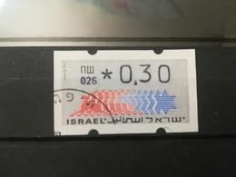 ISRAELE ISRAEL AUTOMATICI AUTOMATIQUE VIGNETTE DISTRIBUTORI DISTRIBUTEURS LETTRE ATM AFFRANCATURE MECCANICHE FRAMA - Affrancature Meccaniche/Frama