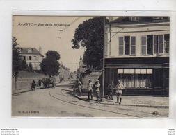SANVIC - Rue De La République - Très Bon état - Autres Communes