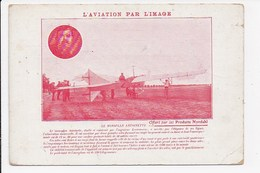 CPA PUBLICITE MEDICALE  AVIATION PAR L'IMAGE Le Monoplan Antoinette - ....-1914: Vorläufer