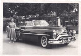 """OLDSMOBILE  """"CONCOURS ELEGANCE  ... FRANCE"""" ?   1952  PARIS   PHOTO ALIX  BAGNERES DE BIGORRE - Automobili"""