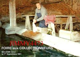 CPM - BELLÊME 61 Orne - La Laveuse - FOIRE AUX COLLECTIONNEURS Sept. 1991 - Edit. D'Art JACK - Scans Recto-Verso - Collector Fairs & Bourses