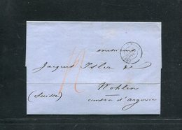 Frankreich / 2 Altbriefe (16080) - 1849-1876: Période Classique