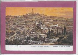 JERUSALEM .- Le Mont Des Oliviers - Israele