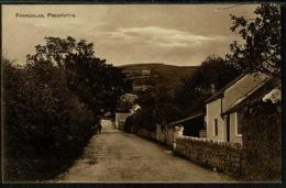 Ref 1293 - Early Postcard - Ffordlas Village Prestatyn - Denbighshire Wales - Denbighshire