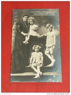 S. A. R.  Madame La Comtesse De Flandre, Les Princes Léopold Et Charles Et Princesse Marie-José - 1911 - Familles Royales