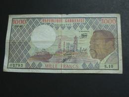 1000 Mille Francs  1983  République Gabonaise   **** EN ACHAT IMMEDIAT **** - Gabon