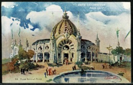 Ref 1294 - 1906 Unused Postcard Milan Fair Italy - Arte Decorativa - Decorative Arts - Esposizione Exhibition - Exhibitions