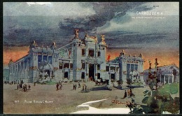 Ref 1294 - 1906 Unused Postcard Milan Fair Italy - Carrozzeria - Carriage Pavilion - Esposizione Exhibition - Exhibitions