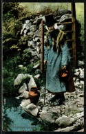 Ref 1295 - Early Ethnic Postcard - Catherine Thomas - Welsh Woman In Costume Wales - Europe