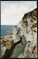 Ref 1295 - Early Postcard - Capstone Parade West - Ilfracombe Devon - Ilfracombe