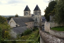 Chinon (37)- Collégiale Saint-Mexme (Edition à Tirage Limité) - Chinon