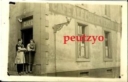 Cpa Photo 57 Fontoy Café A L'écho De Verdun  13/1a - Altri Comuni