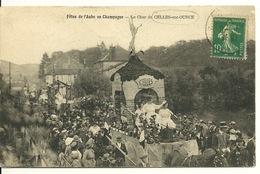 10 - FETES DE L'AUBE EN CHAMPAGNE / LE CHAR DE CELLES SUR OURCE - France