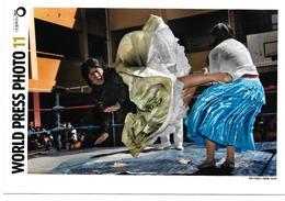 3053s: AK World Press Foto, 1070 Wien, Zwei Hysterische Weiber Im Boxring - Boxsport