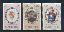 Mauritius 1981 Royal Wedding, Charles & Diana MUH - Mauritius (1968-...)