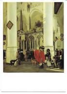 3053r: AK Emanuel De Witte (1617-1692), Interieur De La Nieuwe Kerk De Delft, 1656 - Illustrateurs & Photographes