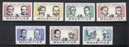 Mauritius 1981 Famous Men MUH - Mauritius (1968-...)