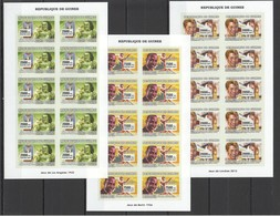 AA105 !!! IMPERFORATE 2007 DE GUINEE SPORT OLYMPIC GAMES BERLIN LONDON LOS ANGELES 10SET MNH - Giochi Olimpici