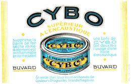 E C/Buvard Encaustique Cybo (Format 21 X 14) (N= 1) - Buvards, Protège-cahiers Illustrés